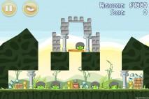 Angry Birds Poached Eggs 3 Star Walkthrough Level 2-15