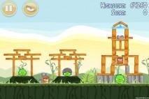 Angry Birds Poached Eggs 3 Star Walkthrough Level 2-16