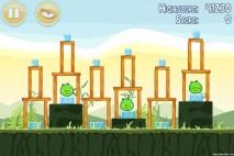 Angry Birds Poached Eggs 3 Star Walkthrough Level 2-17