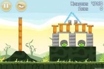 Angry Birds Poached Eggs 3 Star Walkthrough Level 2-19