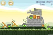 Angry Birds Poached Eggs 3 Star Walkthrough Level 2-20