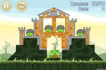 Angry Birds Poached Eggs 3 Star Walkthrough Level 2-21