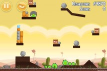 Angry Birds Poached Eggs 3 Star Walkthrough Level 3-1