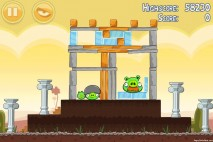 Angry Birds Poached Eggs 3 Star Walkthrough Level 3-12