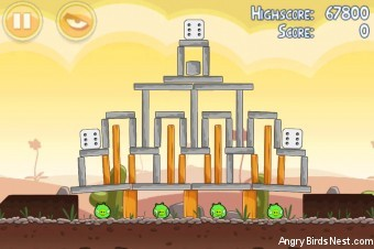 Angry Birds Poached Eggs 3 Star Walkthrough Level 3-15