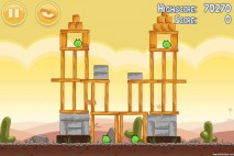 Angry Birds Poached Eggs 3 Star Walkthrough Level 3-16