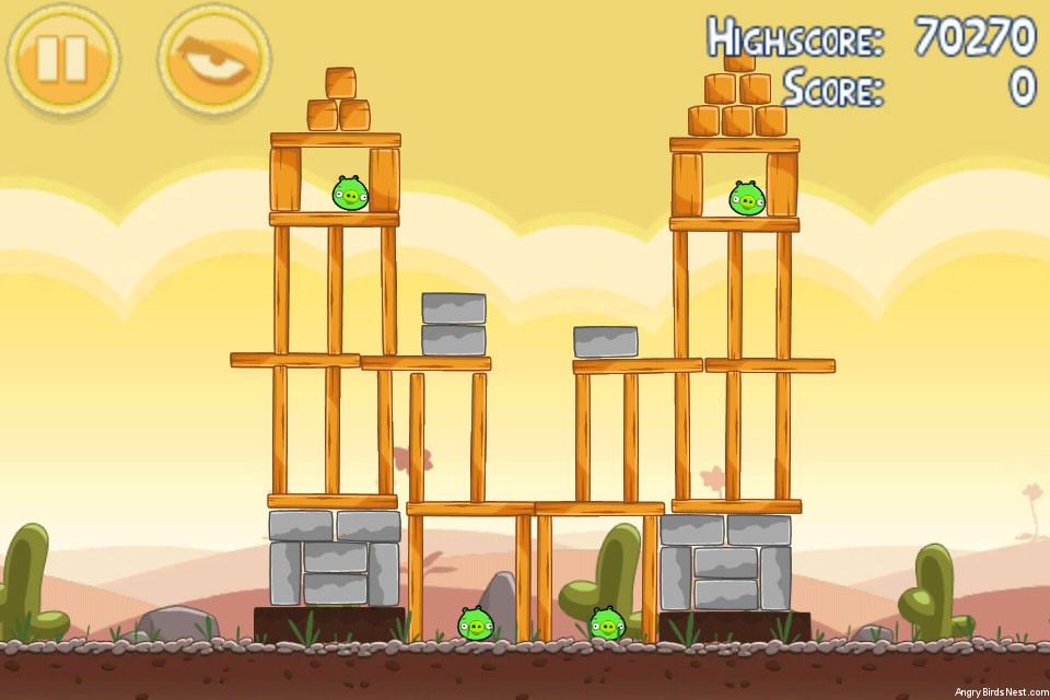 Angry Birds Poached Eggs 3 Star Walkthrough Level 3-16 ...