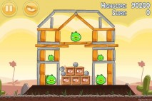 Angry Birds Poached Eggs 3 Star Walkthrough Level 3-5