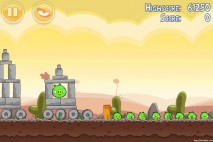 Angry Birds Poached Eggs 3 Star Walkthrough Level 3-6