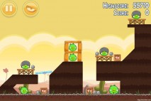 Angry Birds Poached Eggs 3 Star Walkthrough Level 3-7