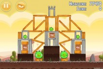 Angry Birds Poached Eggs 3 Star Walkthrough Level 3-8