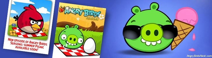 Angry Birds Seasons Summer Pignic Coming Soon