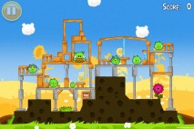 Angry Birds Seasons Summer Pignic Level 1-1 Walkthrough