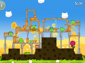 Angry Birds Seasons Summer Pignic Level 1-1