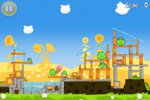 Angry Birds Seasons Summer Pignic Level 1-2 Walkthrough