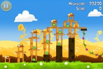Angry Birds Seasons Summer Pignic Level 1-4 Walkthrough