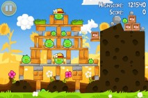 Angry Birds Seasons Summer Pignic Level 1-5 Walkthrough