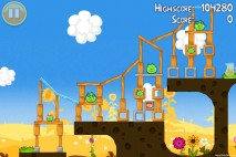 Angry Birds Seasons Summer Pignic Level 1-6 Walkthrough