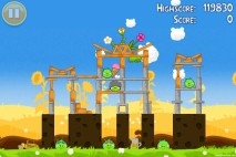 Angry Birds Seasons Summer Pignic Level 1-7 Walkthrough