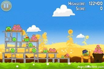 Angry Birds Seasons Summer Pignic Level 1-8 Walkthrough