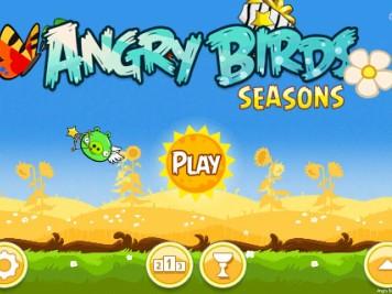Angry Birds Seasons Summer Pignic Main Screen