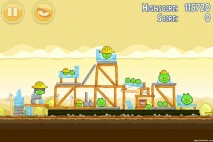 Angry Birds Big Setup 3 Star Walkthrough Level 11-1