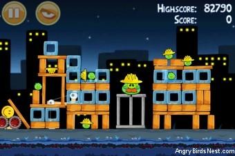 Angry Birds Big Setup 3 Star Walkthrough Level 11-12