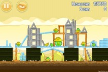 Angry Birds Big Setup 3 Star Walkthrough Level 11-2