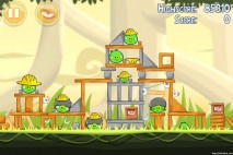 Angry Birds Big Setup 3 Star Walkthrough Level 11-4