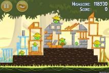 Angry Birds Mighty Eagle Total Destruction Walkthrough Level 11-5