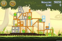 Angry Birds Big Setup 3 Star Walkthrough Level 11-6