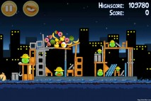 Angry Birds Big Setup 3 Star Walkthrough Level 11-9