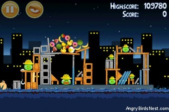 Angry Birds Big Setup 3 Star Walkthrough Level 11-9