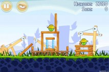 Angry Birds Big Setup 3 Star Walkthrough Level 9-1