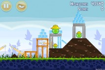 Angry Birds Big Setup 3 Star Walkthrough Level 9-3