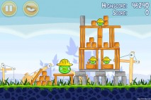 Angry Birds Big Setup 3 Star Walkthrough Level 9-4