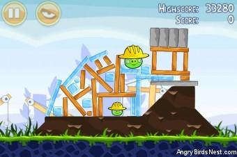 Angry Birds Big Setup 3 Star Walkthrough Level 9-5