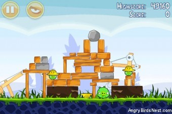Angry Birds Big Setup 3 Star Walkthrough Level 9-6