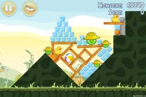 Angry Birds Big Setup 3 Star Walkthrough Level 9-8