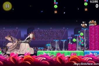 Angry Birds Rio Carnival Upheaval Walkthrough Level 30 (8-15)