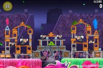 Angry Birds Rio Carnival Upheaval Walkthrough Level 19 (8-4)