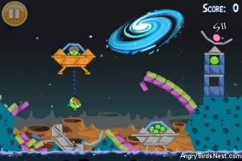 Angry Birds Seasons Summer Pignic Golden Egg #22 Walkthrough