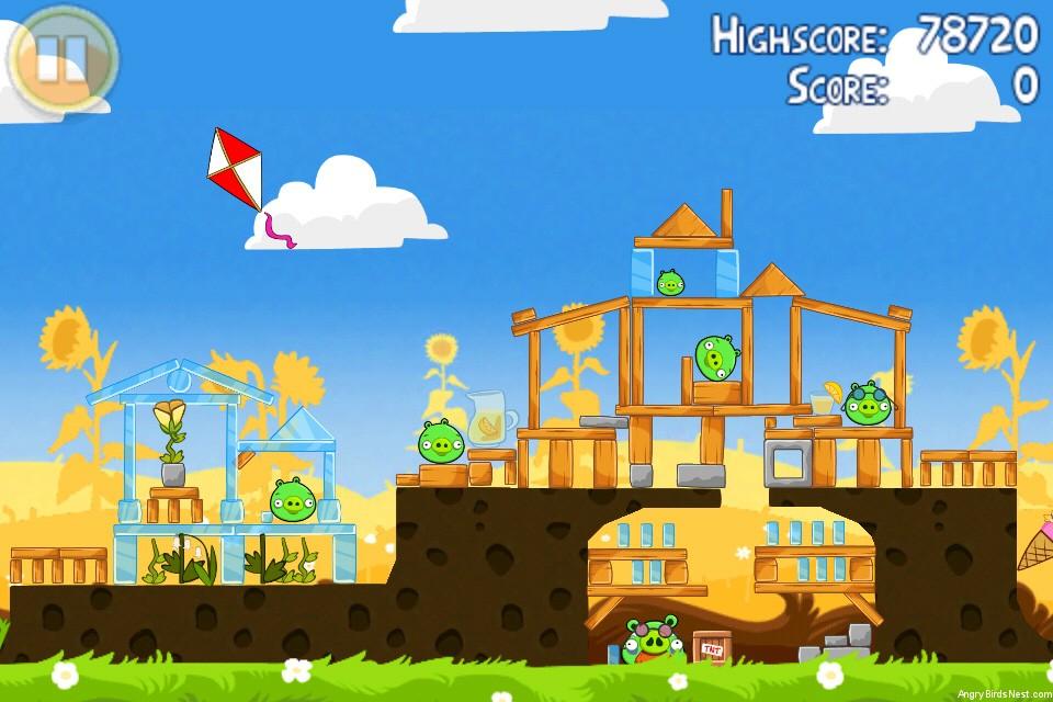 Angry Birds Seasons Summer Pignic Level 1-22 Walkthrough ...