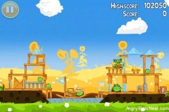 Angry Birds Seasons Summer Pignic Level 1-24 Walkthrough