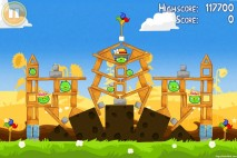 Angry Birds Seasons Summer Pignic Level 1-27 Walkthrough