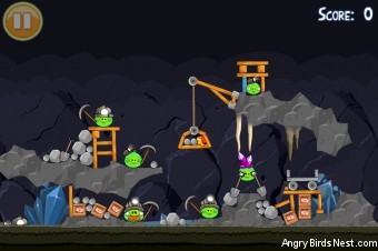 Angry Birds Golden Egg #25 Walkthrough