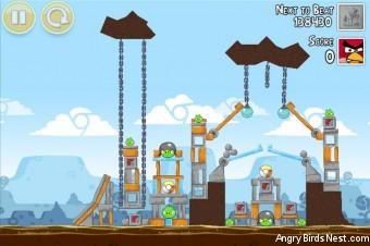Angry Birds Google+ Teamwork Level G-1