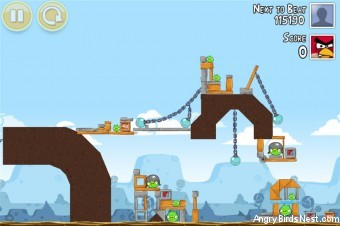 Angry Birds Google+ Teamwork Level G-2