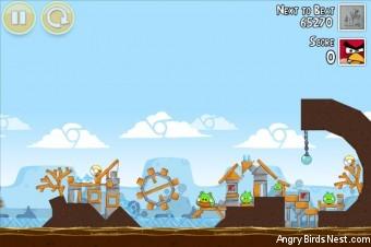Angry Birds Google+ Teamwork Level G-3