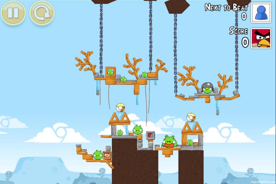 angry birds google plus teamwork level 1 4 angrybirdsnest